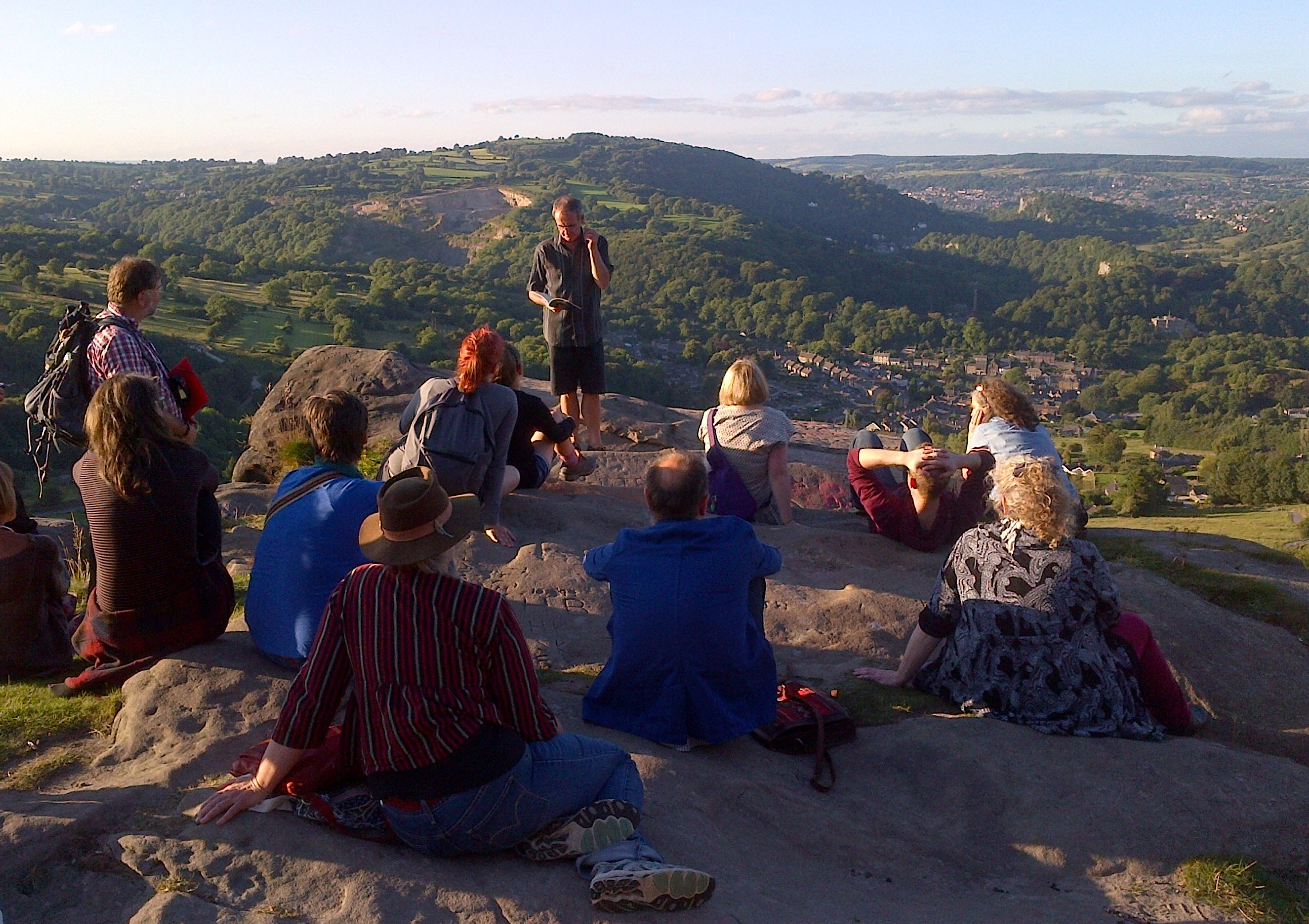 Reading at Black Rocks